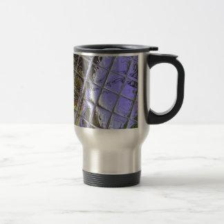 Metalliic Purple 15 Oz Stainless Steel Travel Mug