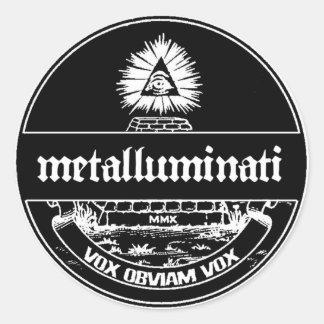 Metalluminati Old World Sticker