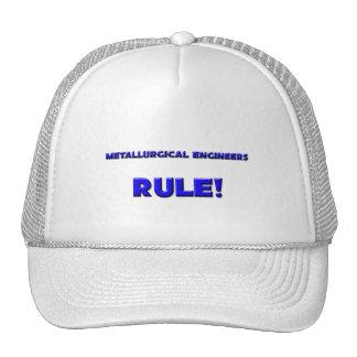 Metallurgical Engineers Rule! Hats
