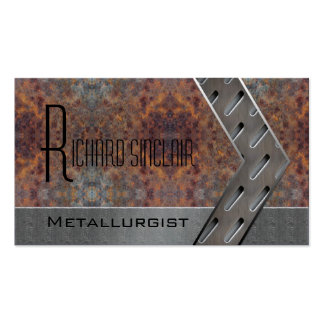Metallurgy Style1 Double-Sided Standard Business Cards (Pack Of 100)