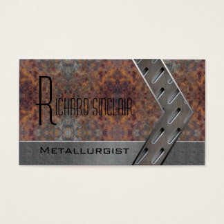 Metallurgy Style1 Business Card