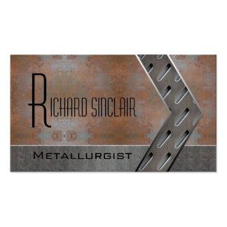 Metallurgy Style2 Business Card