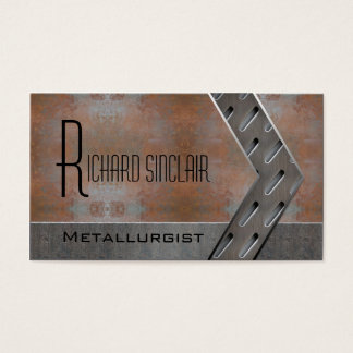 Metallurgy Style2 Business Card