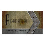 Metallurgy Style3 Double-Sided Standard Business Cards (Pack Of 100)