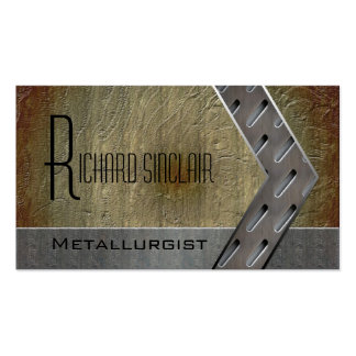 Metallurgy Style3 Business Card Template