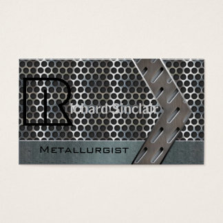 Metallurgy Style4 Business Card