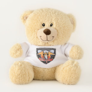 72a3bba37698 Metalphant Emblem Stuffed Teddy Bear – Wilbear