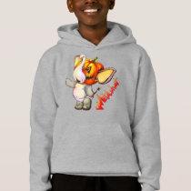 Metalphant Pumpkin Kid's Pullover Hoodie