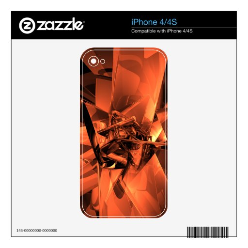 Metals of Orange iPhone 4 Skins