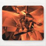 Metals of Orange Mouse Pad