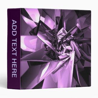 Metals of Purple Binder