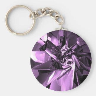Metals of Purple Key Chain