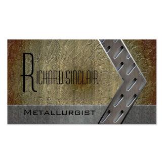 Metalurgia Style3 Tarjeta De Visita