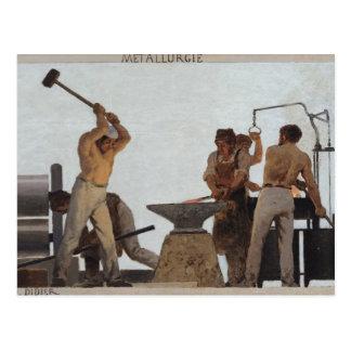 Metalurgia Tarjeta Postal