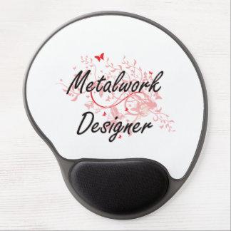 Metalwork Designer Artistic Job Design with Butter Gel Mouse Pad