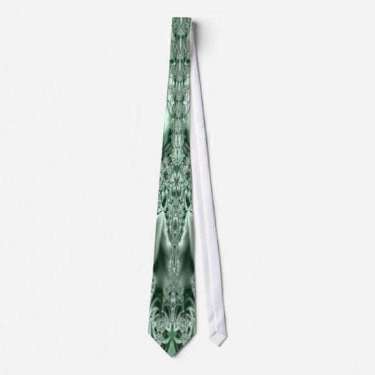 Metalwork Emerald Tie