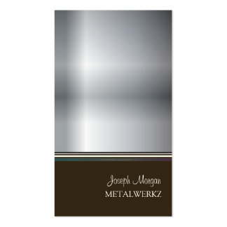 Metalworks, business cards