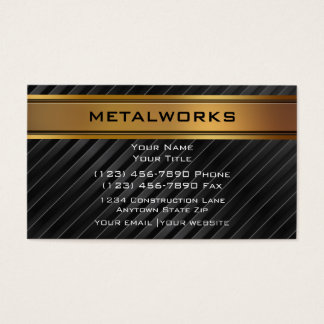 Welding engineering business cards templates zazzle metalworks business cards flashek Images