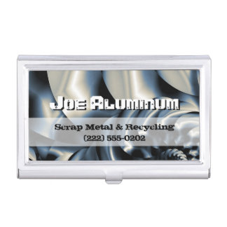Scrap metal recycling office products supplies zazzle metalworks case for business cards reheart Choice Image
