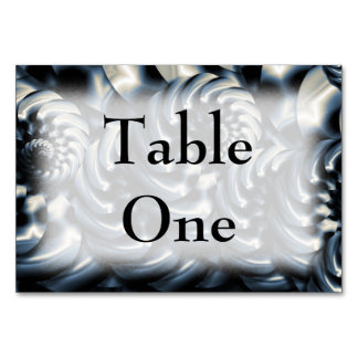 Metalworks Table Card
