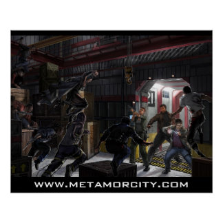 Metamor City: Making the Cut Poster