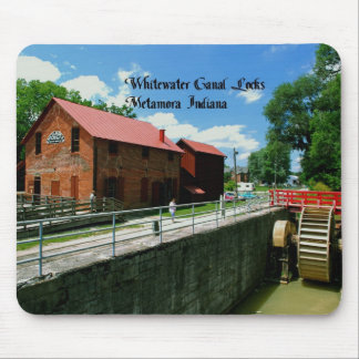 Metamora Indiana Feed Mill Mouse Pad