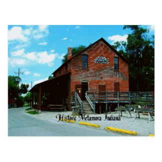 Metamora Indiana Postcard