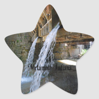 Metamora Indiana Star Sticker