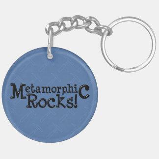 Metamorphic Rocks! Acrylic Key Chain