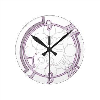 Metamorphic Round Clock