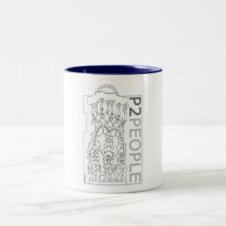 Metamorphic Two-Tone Coffee Mug