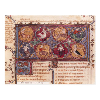 Metamorphoses, from Ovid Moralise Postcard