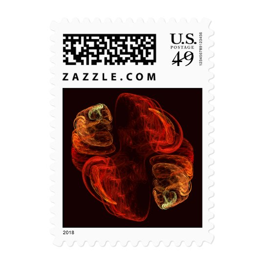 Metamorphosis Abstract Postage Stamp