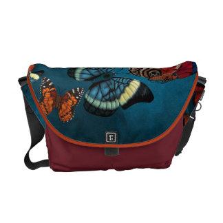 Metamorphosis Blue Messenger Bag
