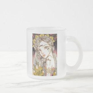 Metamorphosis Frosted Glass Coffee Mug