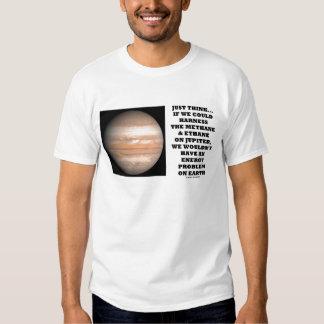 Metano y etano del arnés en Júpiter Remeras