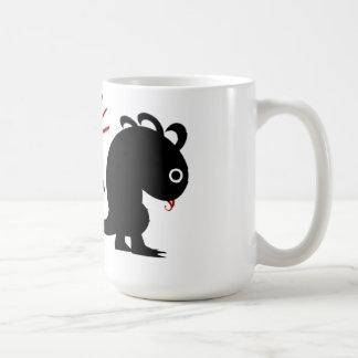 Metaphor #5 (Dinosaur w/ meteorite) Coffee Mug