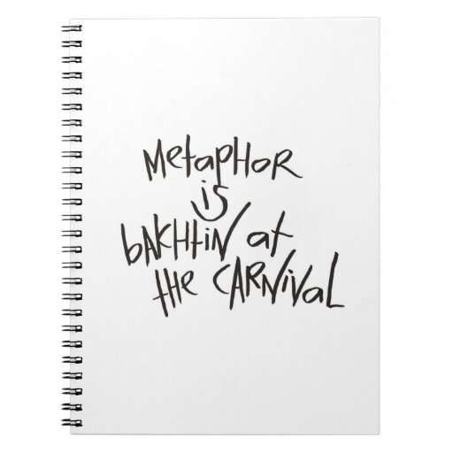 Metaphor Is Bakhtin At The Carnival Note Book