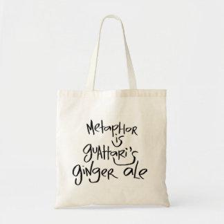 Metaphor Is Guattari's Ginger Ale Tote Bag