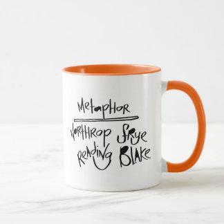Metaphor: Northrop Frye Reading Blake Mug