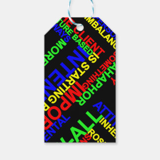 Metaphor Pack Of Gift Tags