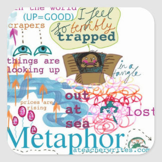 Metaphor Stickers KS2 KS3