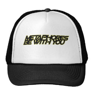 Metaphors be with you mesh hats