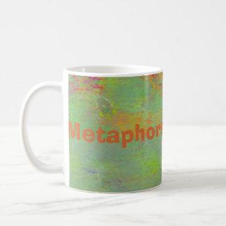 Metaphors be with you mug with abstract art