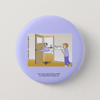 Metaphysics Lab Classic Cartoon Key Chain Pinback Button