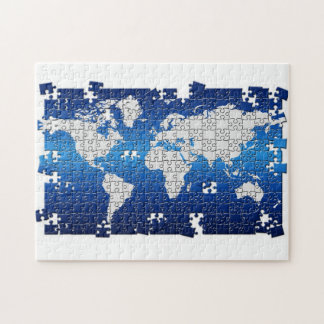 World Map Jigsaw Puzzles Zazzle