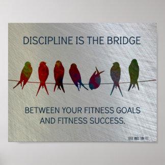 Metas de la aptitud al éxito de la aptitud: Motiva Posters