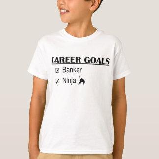 Metas de la carrera de Ninja - banquero Camisas