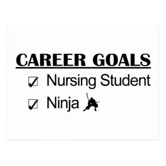 Metas de la carrera de Ninja - estudiante del ofic Postal