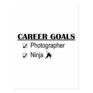 Metas de la carrera de Ninja - fotógrafo Tarjetas Postales